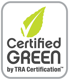 Certified Green by TRA Certification